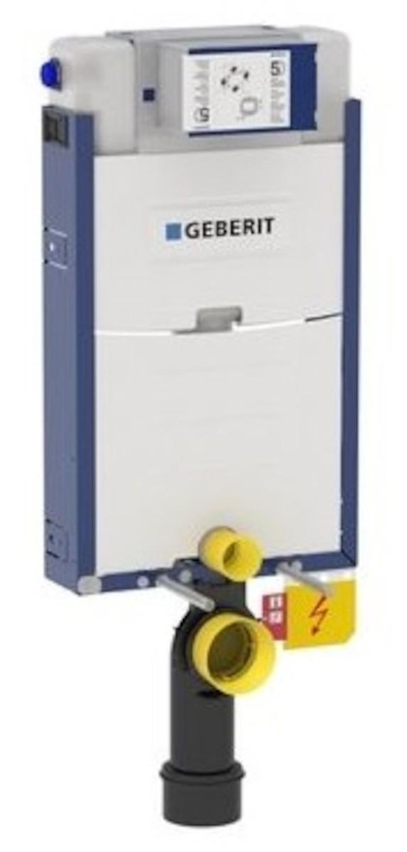 Nádržka pro zazdění k WC Geberit Kombifix 110.020.00.1