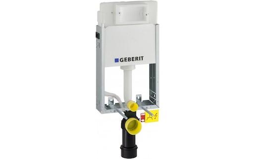 Geberit Kombifix - KOMBIFIXBasic pro závěsné WC, 108 cm, s nádržkou Delta, pro ovládací tlačítka Delta 110.100.00.1 alternativa k 110.302.00.5