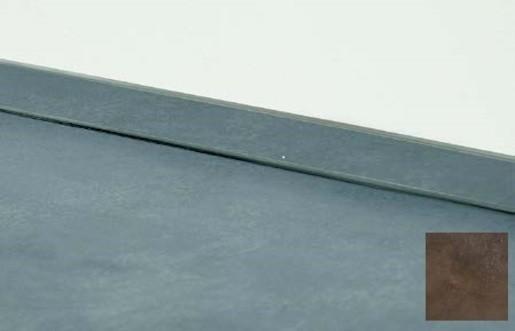 Těsnící lišta Naturel 400 cm měď 117.WAP400