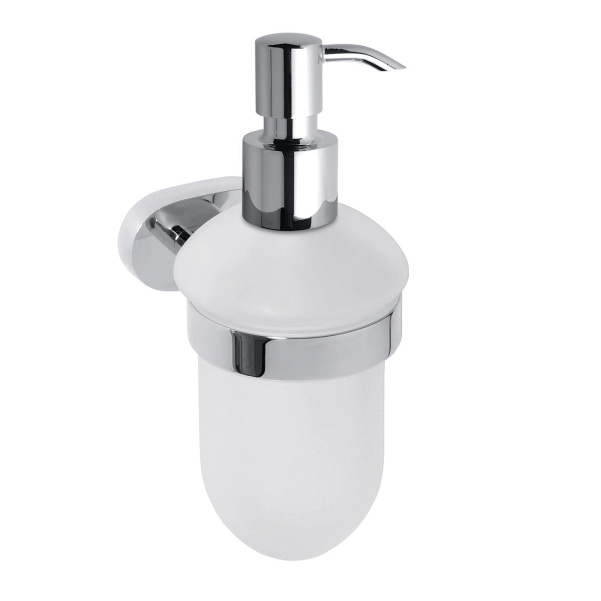 Dávkovač mýdla Bemeta OVAL chrom 118409011