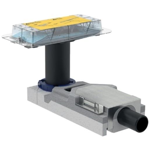 Geberit CleanLine Souprava pro hrubou montáž sprchového kanálku, pro podlahy 65-90 mm, odpad 40 mm 1