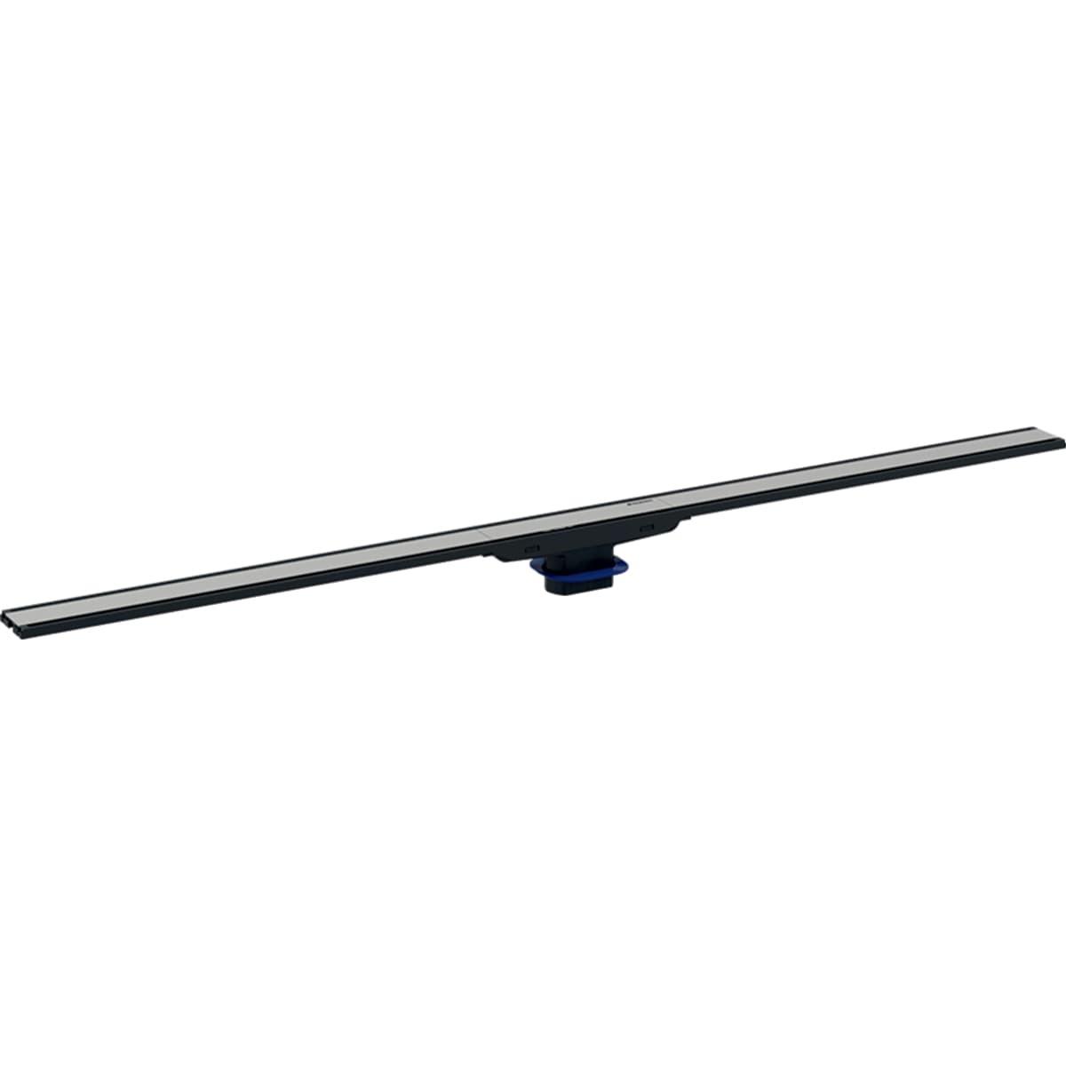 Nerezový sprchový kanálek Geberit CleanLine, 300-900 mm, tmavý kov 154.456.00.1