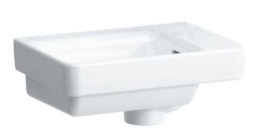 Umývátko Laufen Pro S 36x25 cm bez otvoru pro baterii H8159600001091