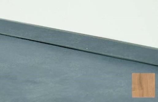 Lišta na pracovní desku dub 4 m 25x25 mm 192.WAP400