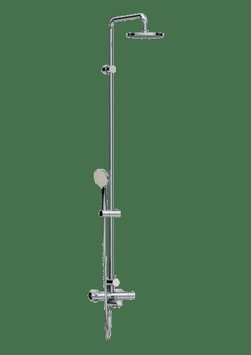 Sprchový systém Jika Mio, oblý H3237170045711
