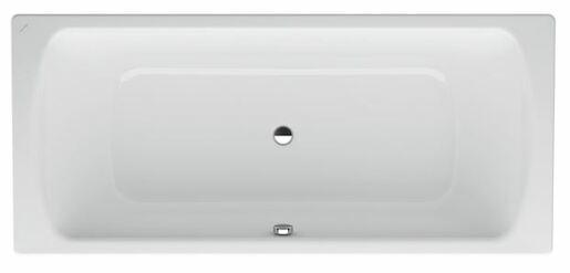 Obdélníková vana Laufen Palomba 170x75 cm, smaltovaná ocel 3,5 mm, 155 l H2250706000401