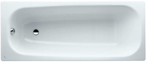 Vana Laufen Palomba 160x70 cm, smaltovaná ocel 3,5 mm, 92 l H2251400000401