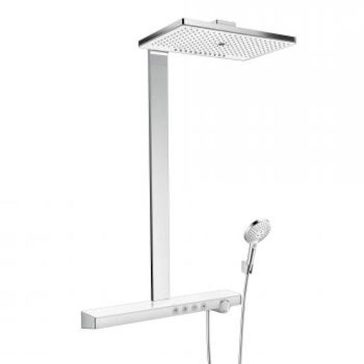 Fotografie Sprchový systém Hansgrohe s termostatickou baterií, 3 funkce 27106400 Hansgrohe