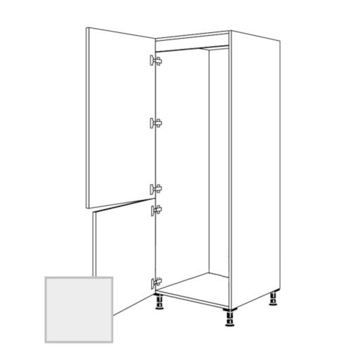 Skř.60cm pro lednici,levá,šedá, VC182