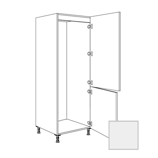 Skř.60cm pro lednici,pravá,šedá, 338.GD17801.R