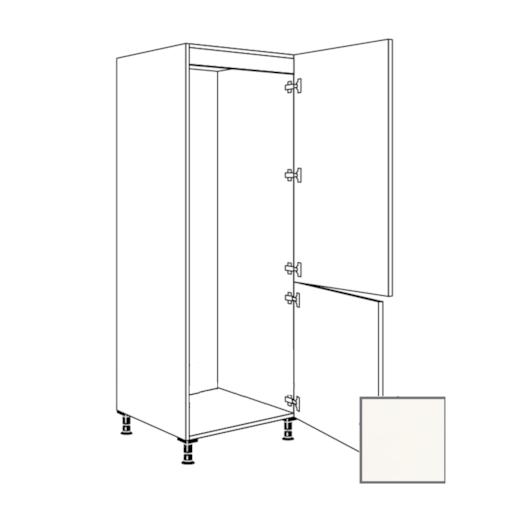 ERIKA24 Kuchyňská skříňka 60 cm pro lednici, L, bílá l, RKI4181E1 450.GD17801B.L