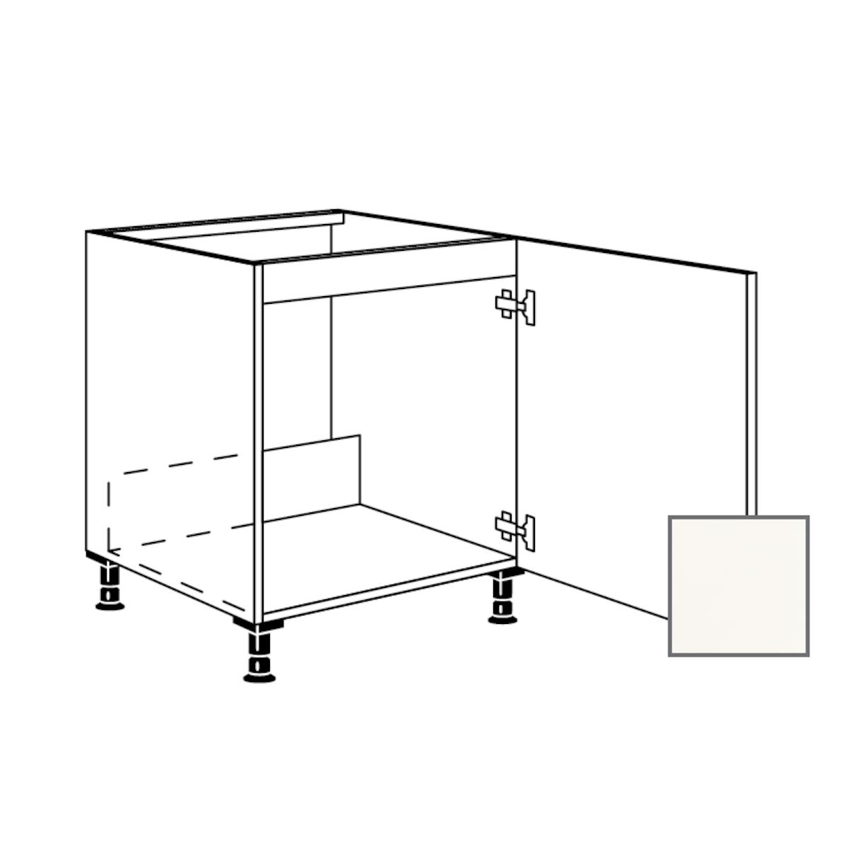 Kuchyňská skříňka spodní Naturel Erika24 dřezová 60x87x56 cm bílá lesk 450.SPUD60.R
