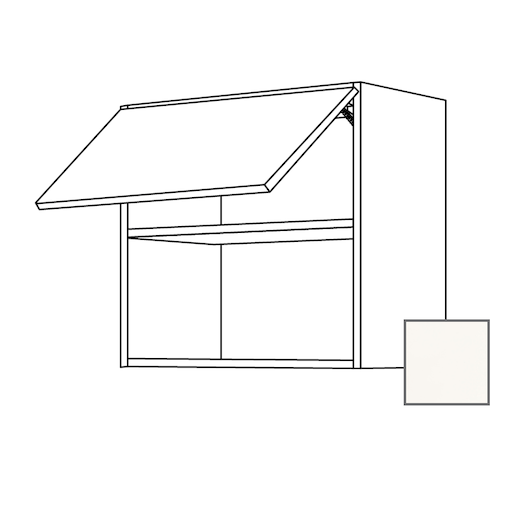 ERIKA24 Kuchyňská skříňka horní 60 cm pro vest.MW, bílá lesk 450.WM6001