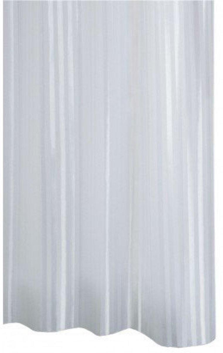 Sprchový závěs Sapho Ridder satin 180x200 cm bílá 47851