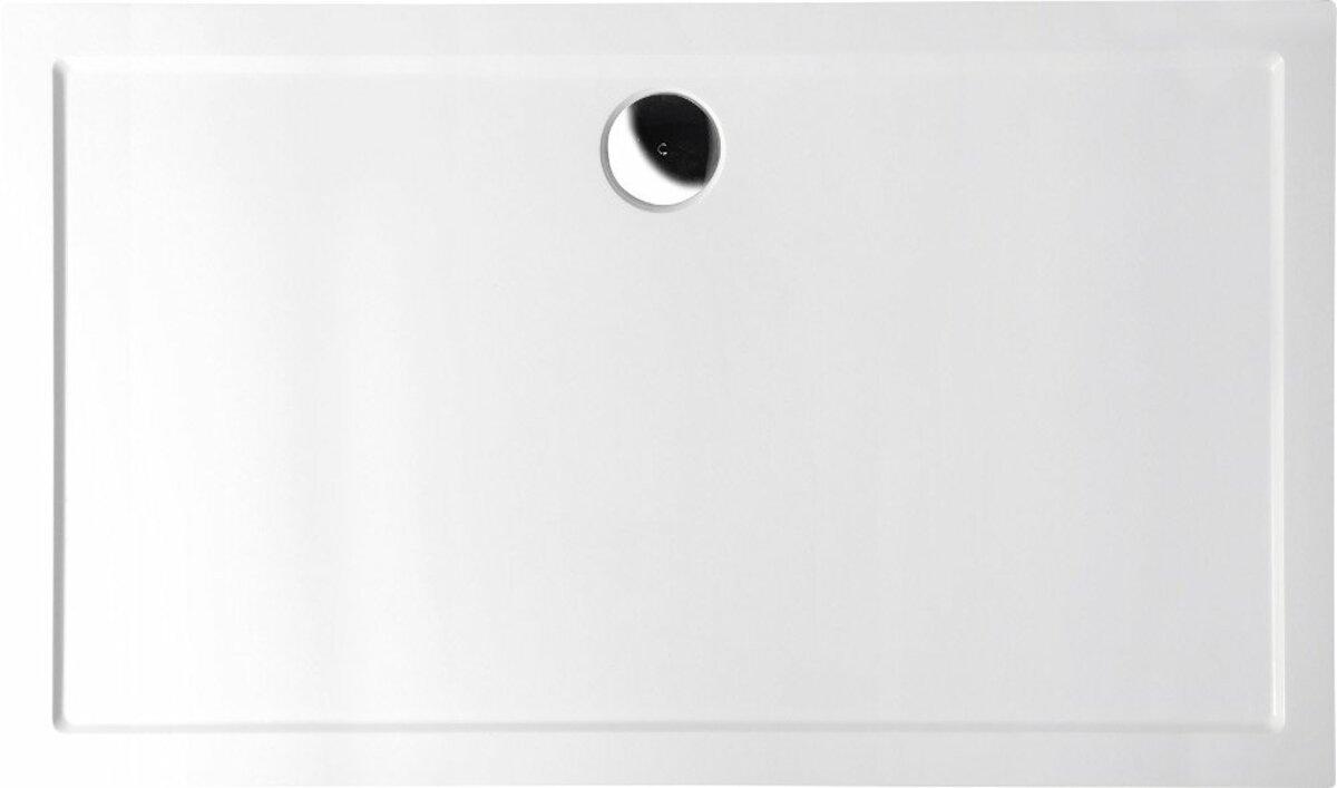 Sprchová vanička obdélníková Polysan Karia 120x90 cm litý mramor 49511