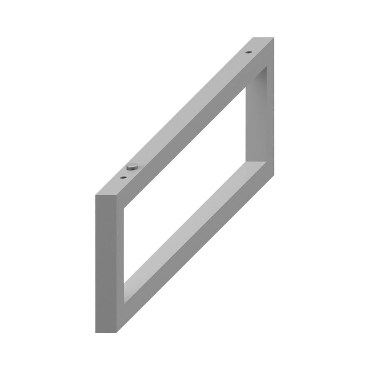 Příslušenství konzole Jika Cubito 2x42x14 cm stříbrná H4501331720001