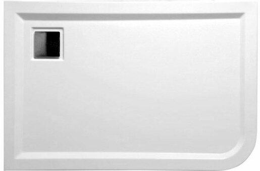 Sprchová vanička obdélníková Polysan Luneta 100x80 cm 51511