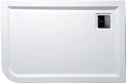 Sprchová vanička obdélníková Polysan Luneta 100x80 cm akrylát 52511