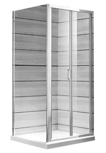 Sprchové dveře Jika Lyra plus bílá H2553810006651