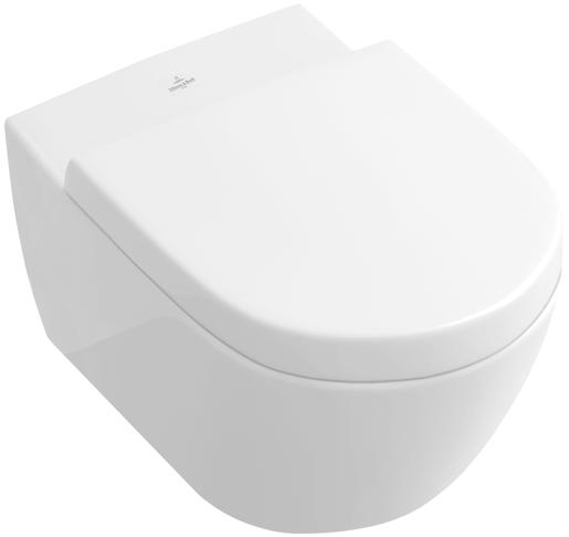 Závěsné WC Villeroy & Boch Subway 2.0, zadní odpad, 56,5cm 5614R001
