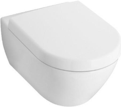 Závěsné WC Villeroy & Boch Subway 2.0, zadní odpad, 56,5cm 5614R0R1