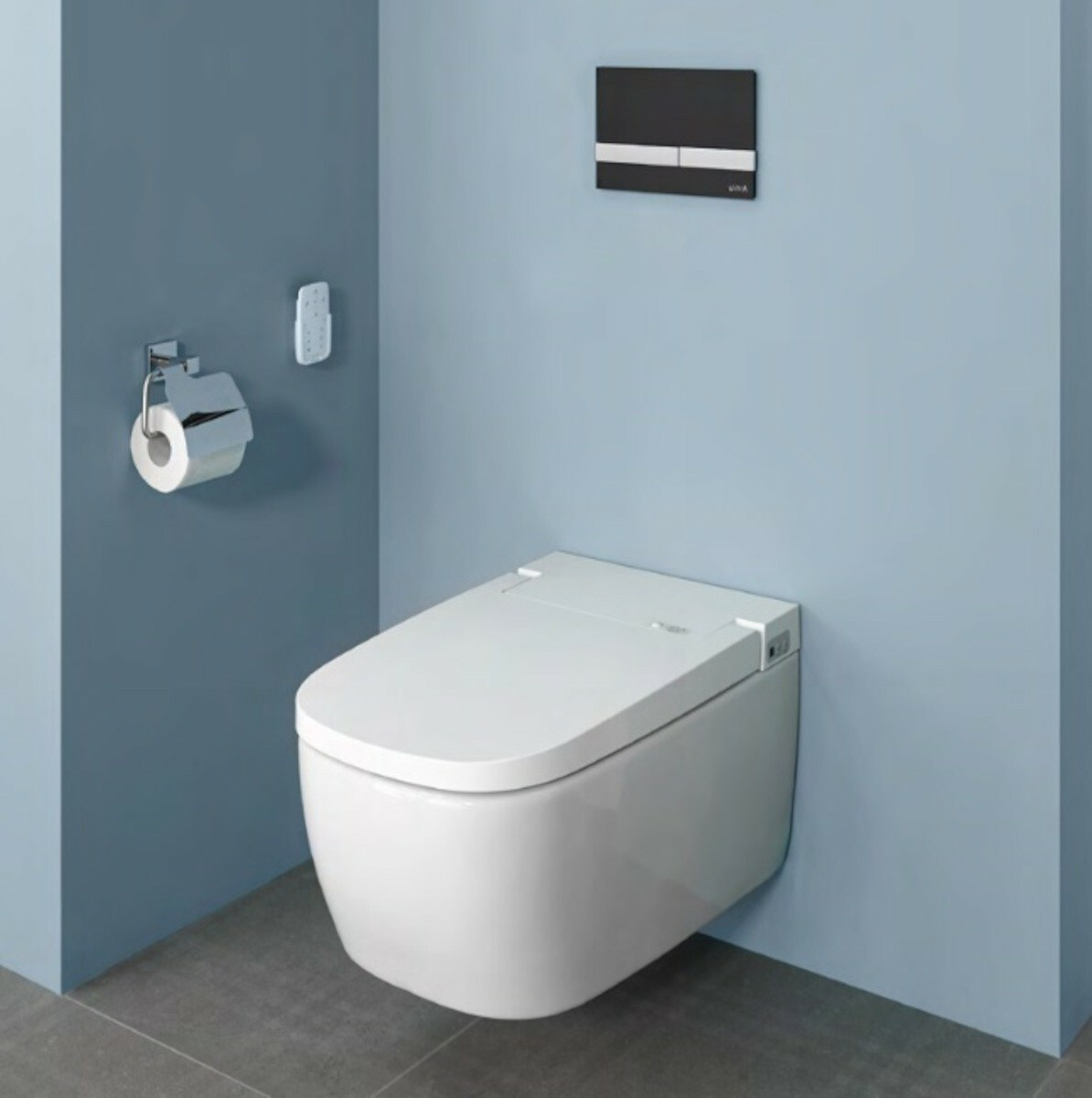 Vitra V CARE 1.1 basic bidet + wc, dálkový ovladač, 5674B003-6193