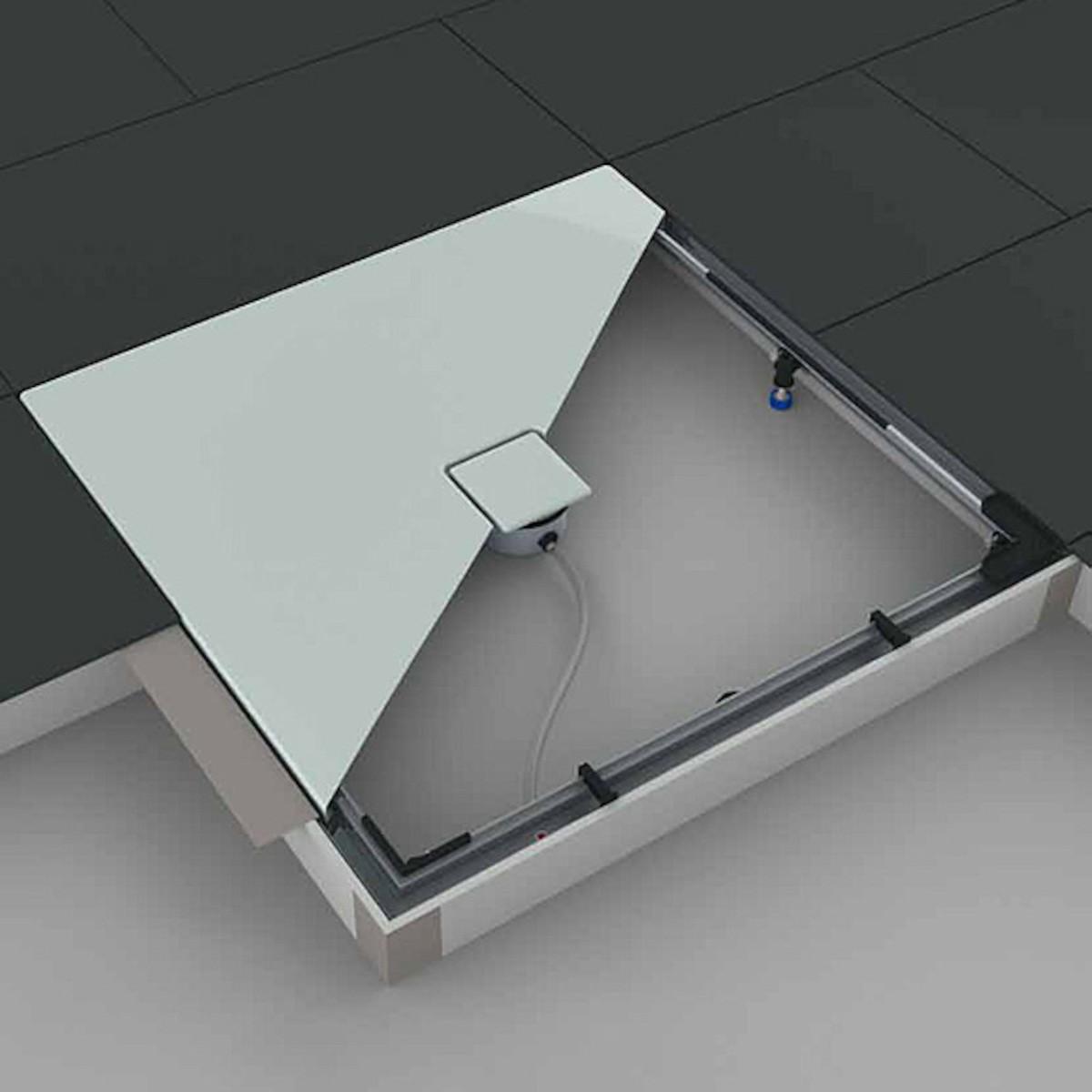 Montážní systém ESR II pro sprchové vaničky 750 x 1000 mm 584574060000