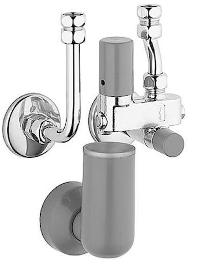 Hansa Příslušenství Pojistná skupina pro tlakové, pevné teplovodní bojlery do 200 l, chrom 63202350