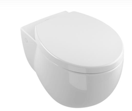 Závěsné WC Villeroy & Boch Subway 2.0, zadní odpad, 59,5cm 661210R1