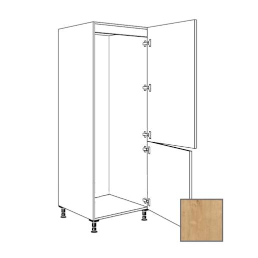 LUSI24 Kuchyňská skříňka 60 cm pro lednici, L, dub, RKI4181E1 698.GD17801B.L