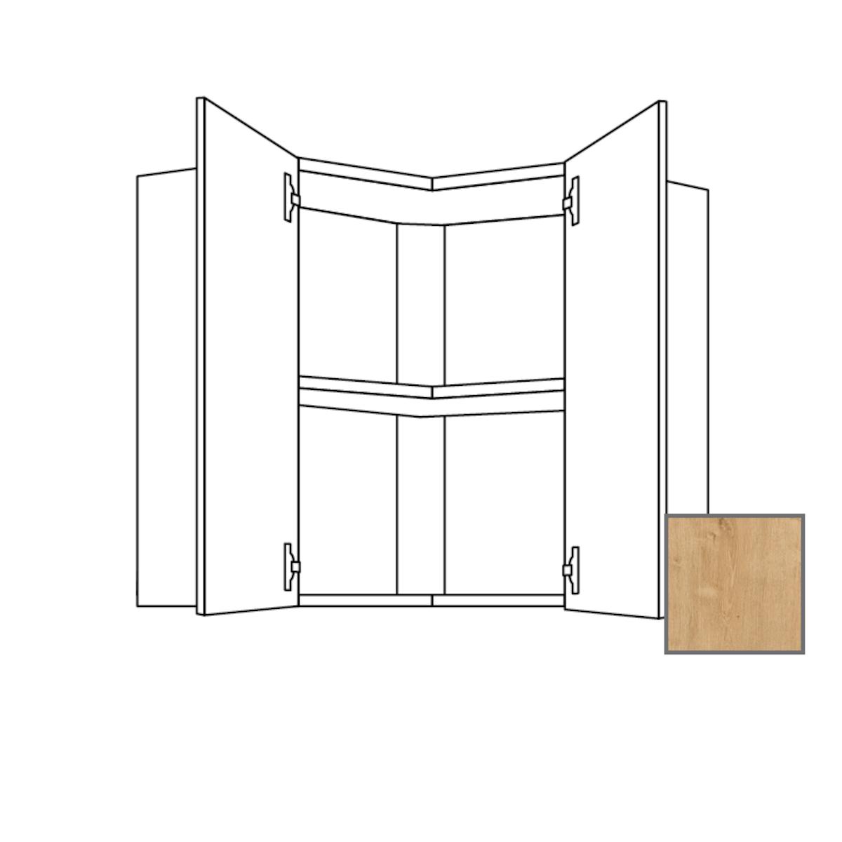 Kuchyňská skříňka s dvířky horní Naturel Lusi24 60x65x60 cm dub 698.WE6001L