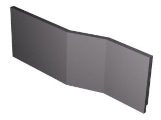 Polysan VERSYS L 170 TIFA panel čelní,70409 Polysan