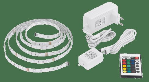 EGLO LED páska 2m+ovlad.+RGB,stmív 92062