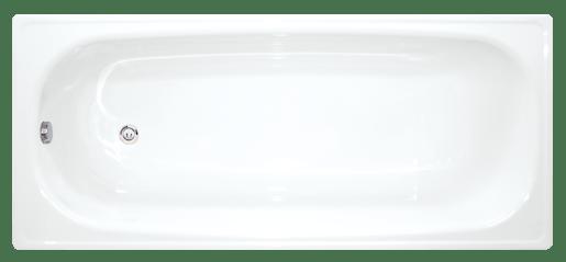 Obdélníková vana Jika Melfi 140x70 cm, smaltovaná ocel 2,5 mm