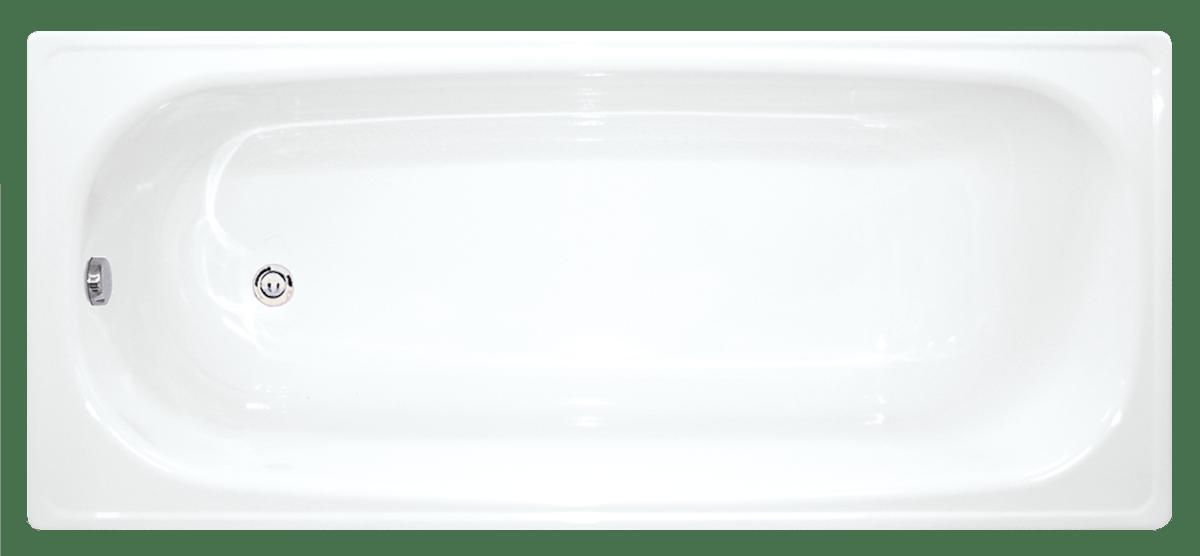 Obdélníková vana Jika Melfi 150x70 cm smaltovaná ocel A150