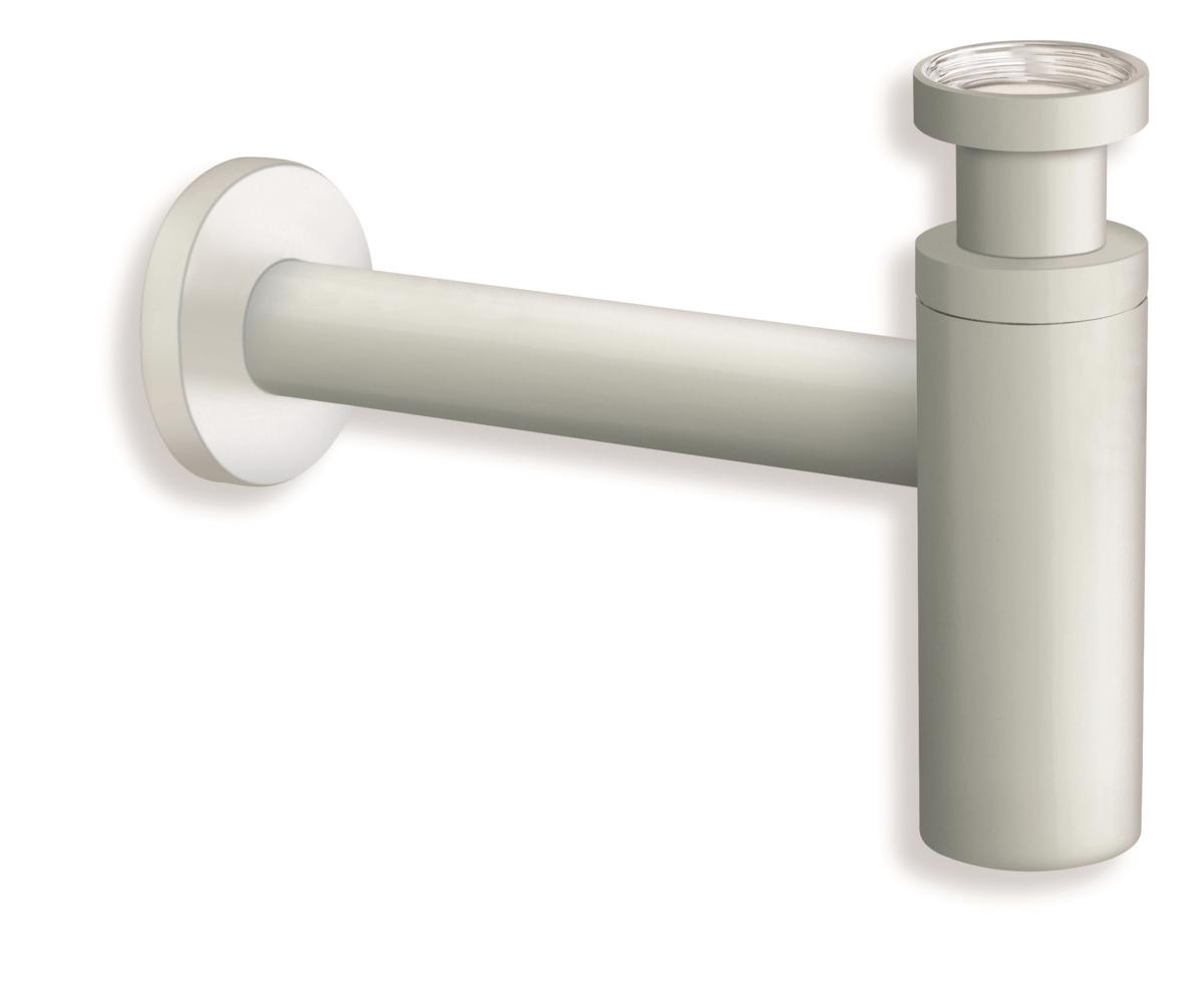 SILFRA umyvadlový sifon bílý matný AC393BM