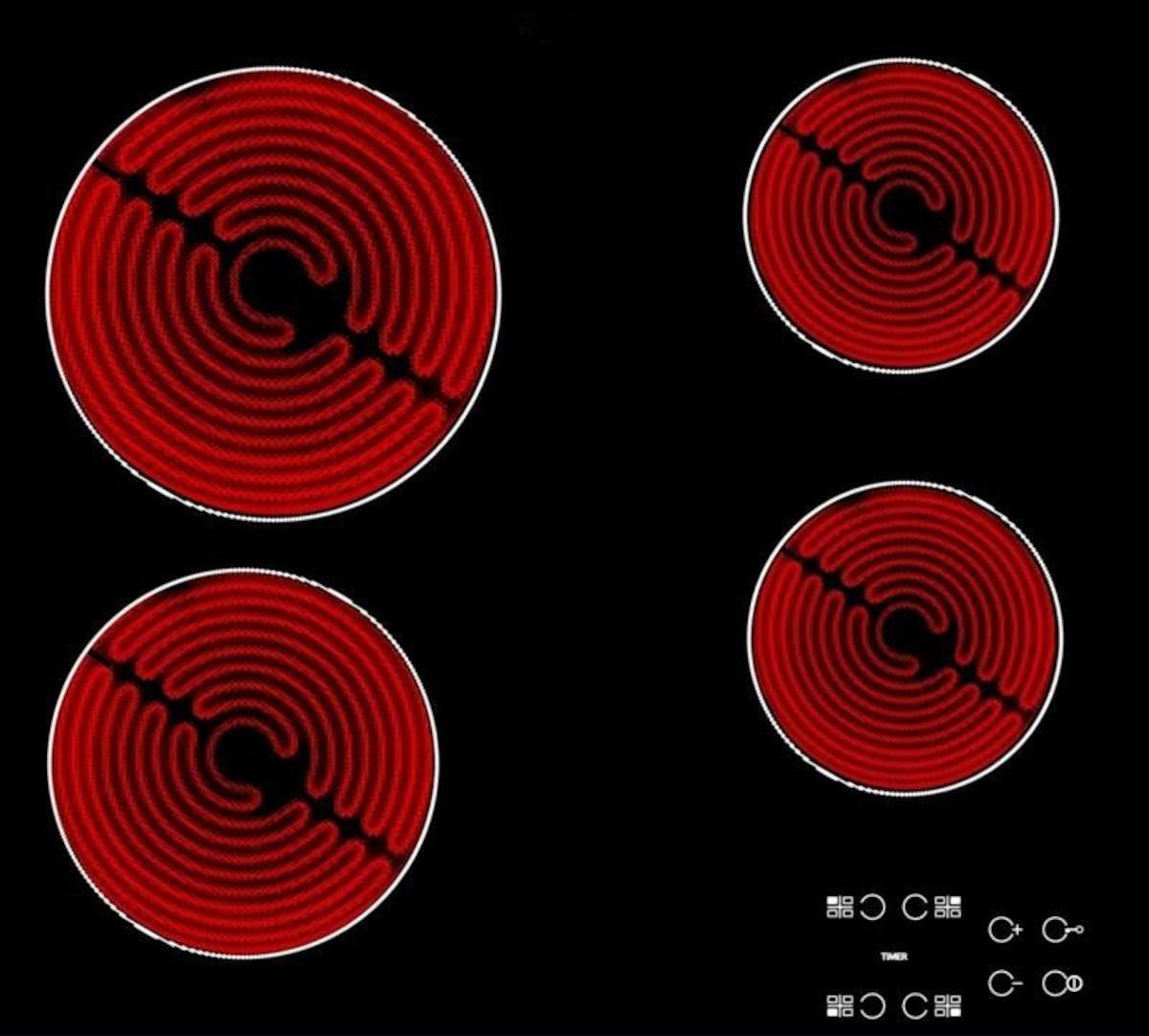 Sklokeramická varná deska Whirlpool černá AKT8090NE