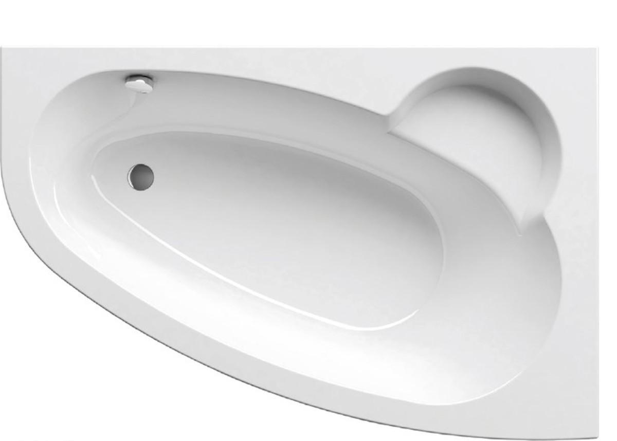 Asymetrická vana Ravak Asymmetric 160x105 cm akrylát pravá C471000000