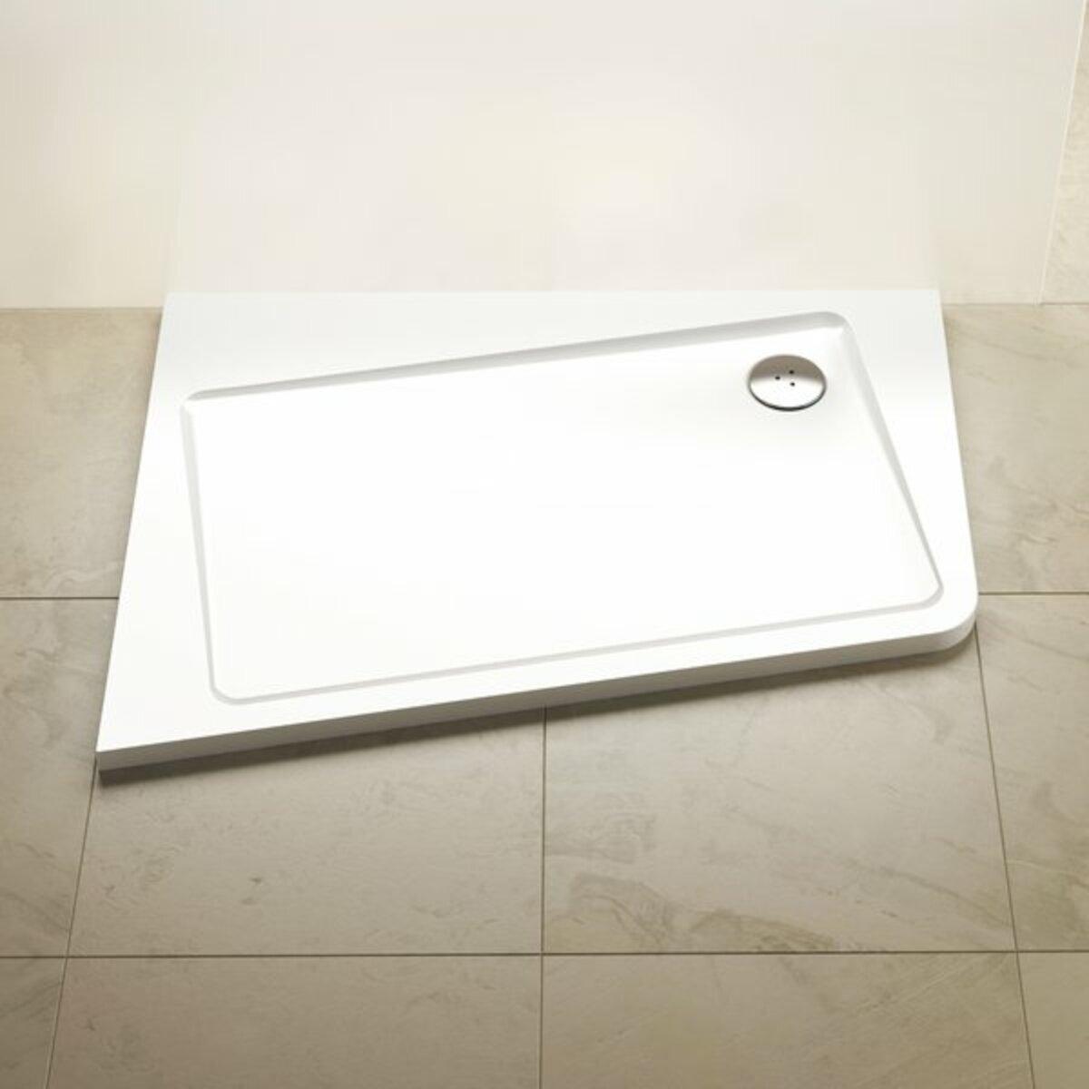 Sprchová vanička obdélníková Ravak 10° 120x90 cm litý mramor XA25G70101L