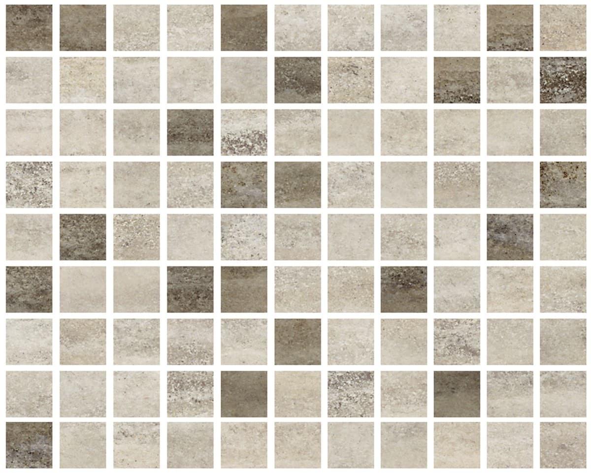 Obklad Multi Bark mix barev mozaika 20x25 cm lesk BARK25MOS