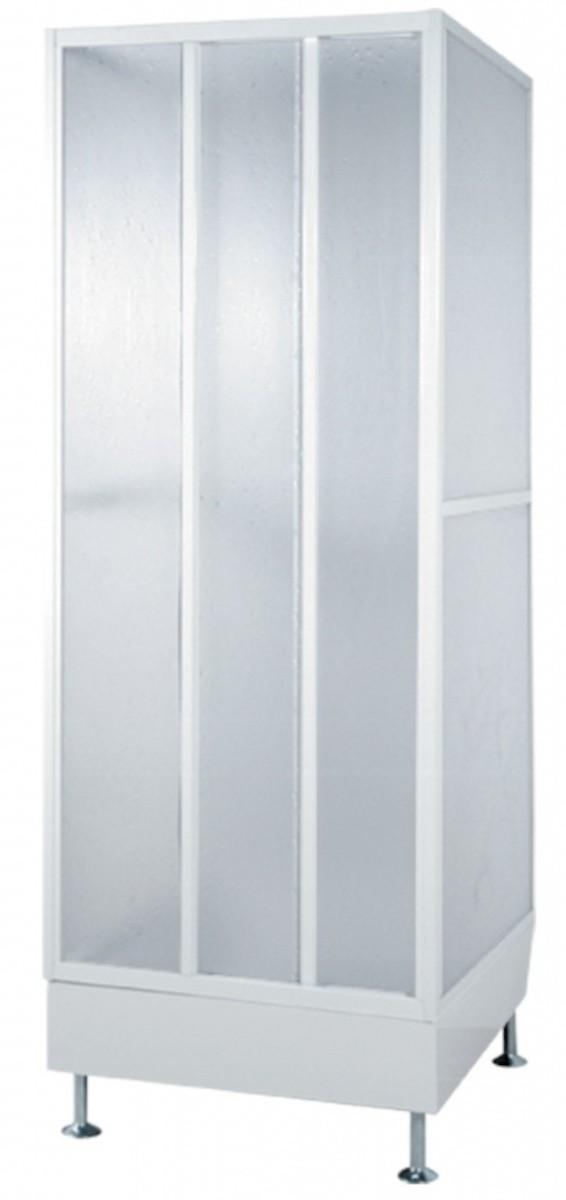 Sprchový box čtverec 79x79x214 cm Teiko BCDT bílá V322079N51T12001
