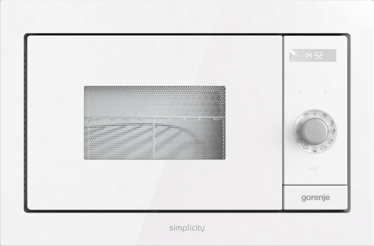 Vestavná mikrovlnná trouba Gorenje bílá BM235SYW