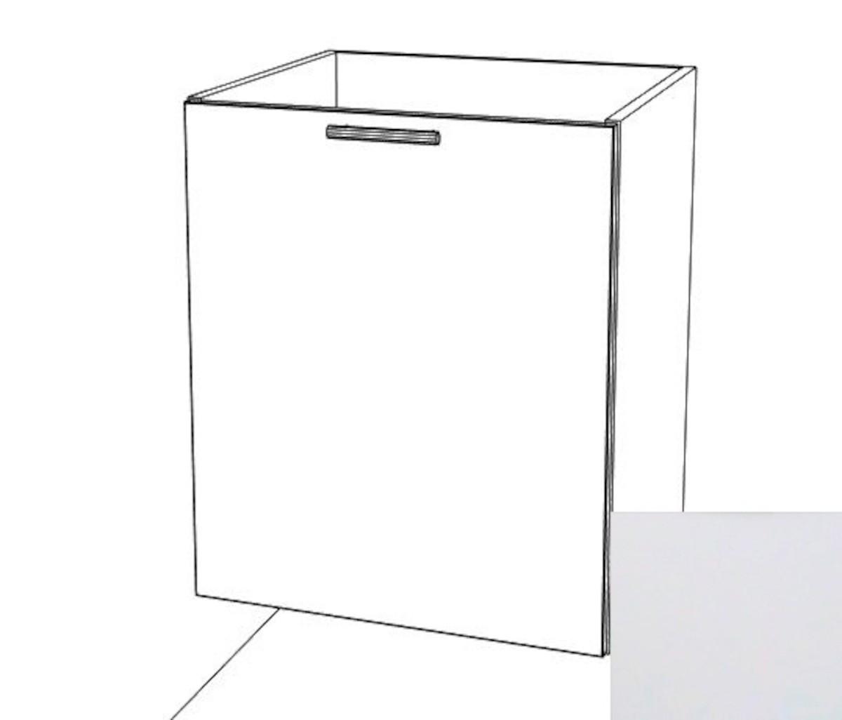 Kuchyňská skříňka dřezová spodní Naturel Gia 60 cm bílá mat BS6072BM