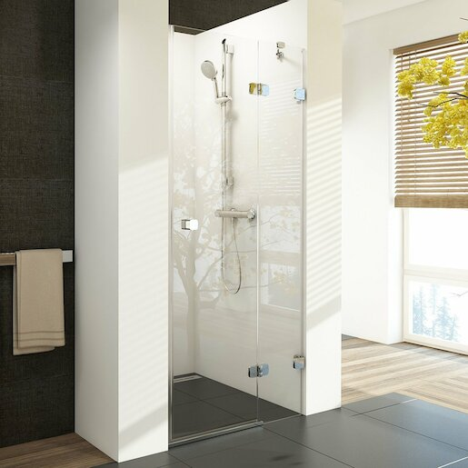 Sprchové dveře Ravak BSD2-100 A-R chrom+ transparent 0UPAAA00Z1