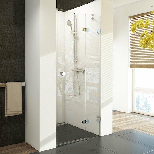 Sprchové dveře Ravak BSD2-80 A-R chrom+transparent 0UP4AA00Z1