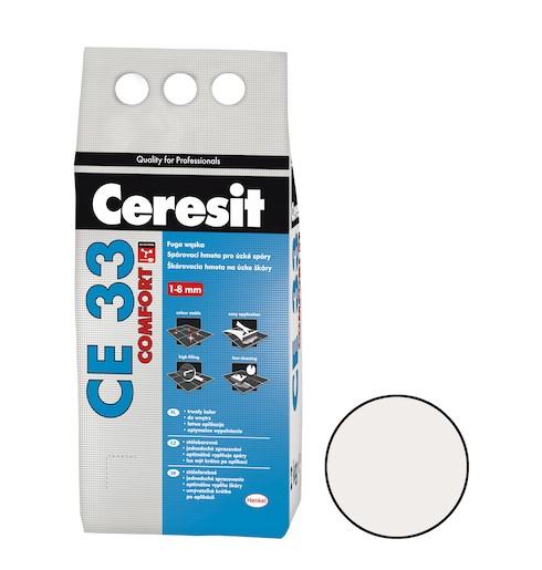 Spárovací hmota Ceresit CE 33 jasmine 2 kg CG1 CE33240