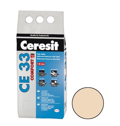 Spárovací hmota Ceresit CE 33 caramel 2 kg CG1 CE33246