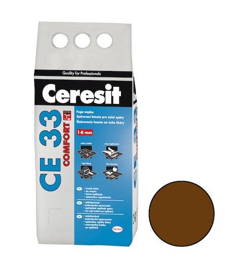 Spárovací hmota Ceresit CE 33 chocolate 2 kg CG1 CE33258