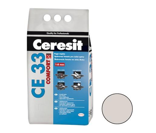Spárovací hmota Ceresit CE 33 silver 5 kg CG1 CE33504