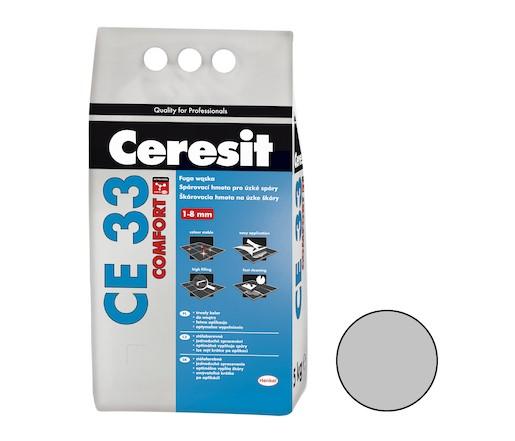 Spárovací hmota Ceresit CE 33 manhattan 5 kg CG1 CE33510